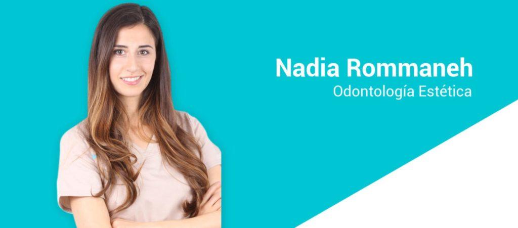 CV - Nadia Rommaneh