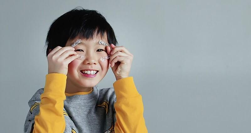 Ortodoncia invisible para niños 3